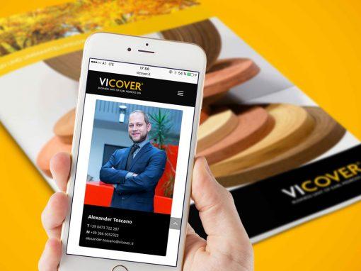 Vicover · Unternehmensauftritt