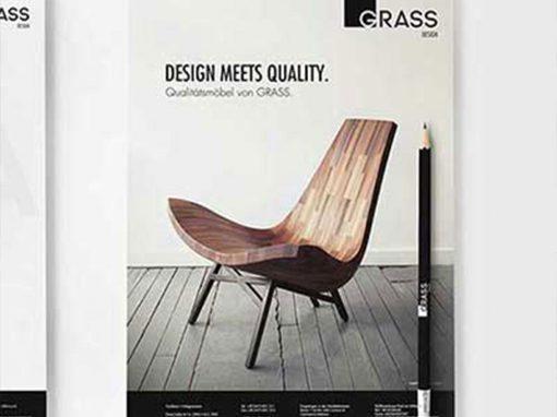 Möbeltischlerei Grass · CI, Druck, Webdesign