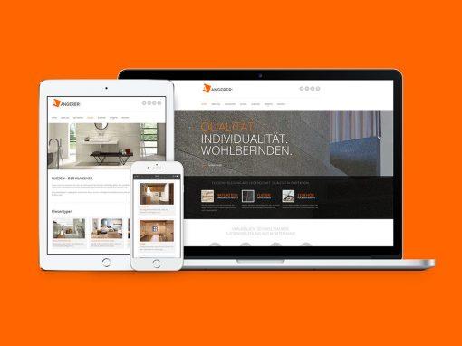 Angerer GmbH · Webdesign, Social Media Marketing