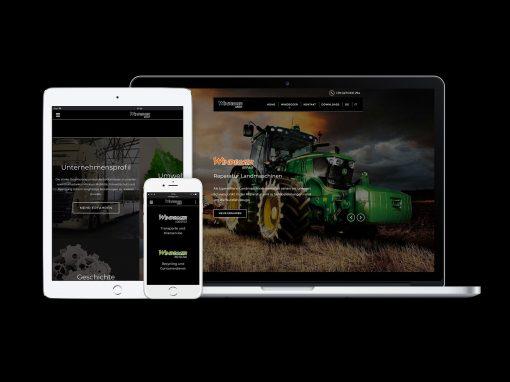 Windegger Group · Unternehmensauftritt