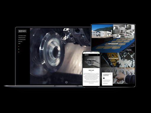 Berges Mechanics GmbH • Unternehmensauftritt