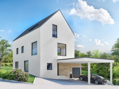 Core Immobilien AG Zürich · Architekturvisualisierung